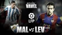 Previa Málaga CF - Levante UD: orgullo frente a obligación