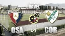 Previa Osasuna B - Coruxo FC: Tajonar vuelve a ver fútbol de bronce