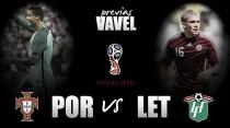 Previa Portugal - Letonia: punto y final a un año histórico