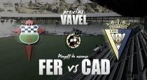 Racing de Ferrol - Cádiz CF: opción única para buscar el retorno