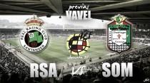 Racing de Santander - UD Somozas: tres puntos decisivos