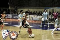 Santiago Futsal - Aspil Vidal Ribera Navarra: como en casa