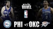 Previa Philadelphia Sixers - Oklahoma City Thunder: cambio de rumbo