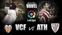 Previa Valencia CF – Athletic Club: victoria como medicina