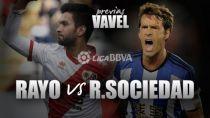 Rayo Vallecano - Real Sociedad: trayectorias dispares