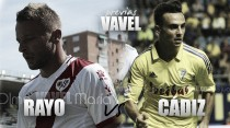 Previa Rayo Vallecano - Cádiz CF: volver a verse después de seis años