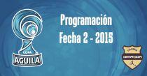 Programación de la segunda fecha de la Copa Águila 2015