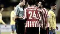 Aritz Aduriz ve la roja en el Estadio Insular de Las Palmas de Gran Canaria