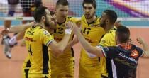 Volley maschile - La Dhl Modena vince a Perugia ed è a un passo dallo scudetto