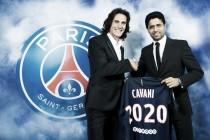 Com um gol por jogo na temporada, Cavani renova com o PSG até 2020