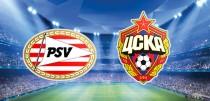 Resultado PSV x CSKA Moscou na Uefa Champions League 2015/2016 (2-1)