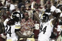 Pittsburgh Steelers rout the Washington Redskins in the nation's capital
