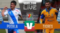 Sin goles en el Cuauhtémoc, Puebla y Tigres reparten puntos