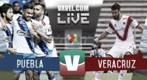 Puebla le da la vuelta al marcador y derrota 3-2 a Veracruz