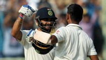 India vs England - Second Test, Day One: Kohli masterclass and the in-form Pujara put hosts in charge