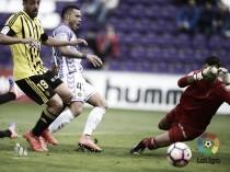 Real Valladolid - Real Zaragoza: puntuaciones del Real Zaragoza, jornada 11