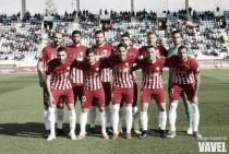 UD Almería - Girona FC: puntuaciones Almería, jornada 25 de Segunda División