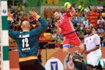 Qatar sorprende a Croacia en su estreno olímpico
