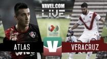 Atlas vs Veracruz en vivo online en Liga MX 2016 (0-0)