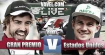 Clasificación GP de EEUU 2016 de F1 en vivo y en directo online