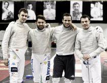 Scherma, podio stregato per l'Italia
