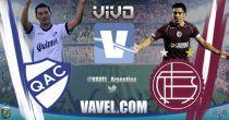 Quilmes vs Lanús en vivo online