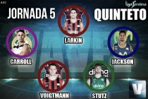 Quinteto VAVEL jornada 5 de la Liga Endesa