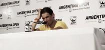 """Rafael Nadal: """"Estuve cerca de ganar el partido pero me faltó consistencia"""""""