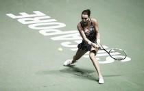 Radwanska desespera a Pliskova y avanza a semifinales