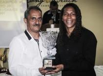Rafaela Silva é homenageada na Noite das Personalidades, em Canoa Quebrada