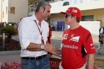 F1, prova sedile per Raikkonen