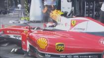 F1, Raikkonen ha rotto il... turbo!
