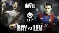 Rayo Vallecano - Levante UD: Vallecas será una caldera