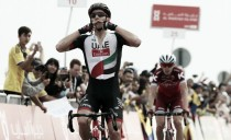 Abu Dhabi Tour, Rui Costa vince in salita. I big si annullano a vicenda