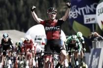 Tour of the Alps, a Rohan Dennis la seconda tappa. Pinot nuovo leader della generale