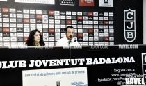 Salva Maldonado: ''De momento hemos de aspirar a ganar contra equipos de nuestra liga''