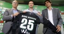 """Manu Herrera: """"Vengo para competir y jugar la mayor cantidad posible de partidos"""""""