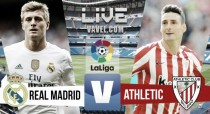 Resultado Real Madrid vs Athletic de Bilbao en vivo y en directo online (0-0)