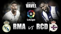 Previa Real Madrid - Deportivo de la Coruña: en busca de confianza para el parón