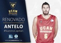 Antelo y el UCAM Murcia, un amor que durará tres años más