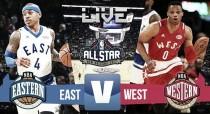 All-Star Game da NBA de 2017: Oeste 192-182 Leste