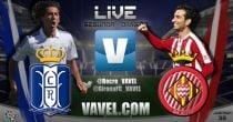 Resultado Recreativo de Huelva - Girona en Liga Adelante 2015 (0-3)