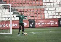 Manolo Reina, el mejor ante el Zaragoza