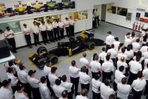 Renault presenta il team F1