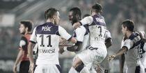 Un ciclón violeta arrasa Rennes