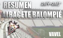 Resumen temporada 2014/15 del Albacete Balompié: recuperación a tiempo