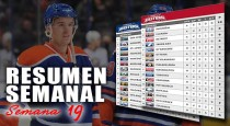 Resumen semanal de la NHL: semana 19