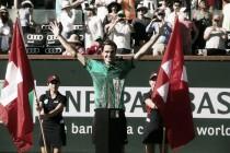 """Atp Indian Wells, Federer: """"La cavalcata continua. Vincere qui non era nei piani"""""""