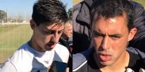 """Rigoni y Rodríguez: """"Trabajamos mucho, Milito es muy exigente"""""""