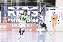Movistar Inter duerme líder al vencer a Ríos Renovables en Zaragoza